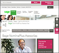 nominaplus software de nóminas laboral SAGE