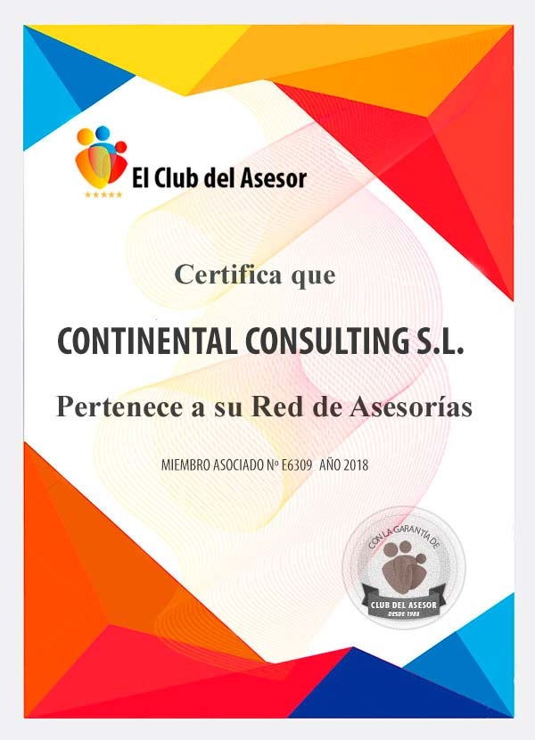 CONTINENTAL CONSULTING  S.L Asesoría Fiscal Contable